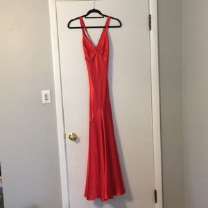 Red Jovani gown